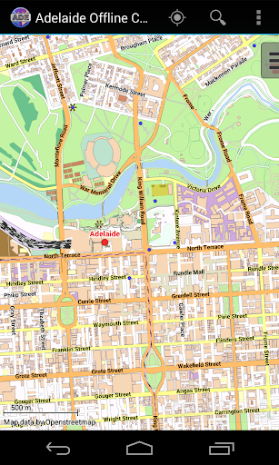 Adelaide Offline City Map Lite