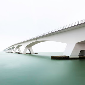 Long exposure Sea Bridge by Steve De Waele - Landscapes Waterscapes (  )