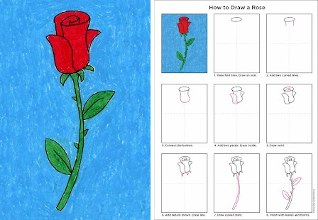 How to Draw a Rose|玩教育App免費|玩APPs