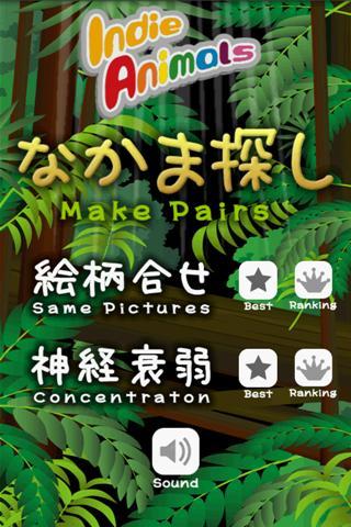 Make pairs quickly!- screenshot