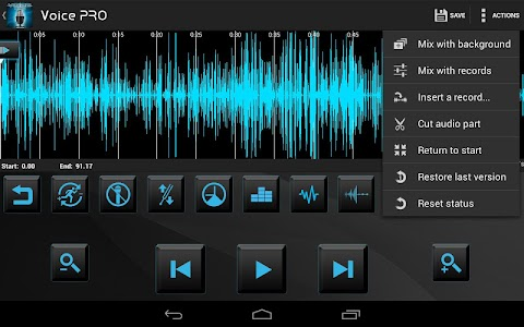 Voice PRO - HQ Audio Editor v3.3.29