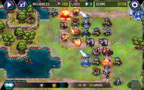 Tower Defense: Infinite War Mod Apk (Unlimited Money) 4