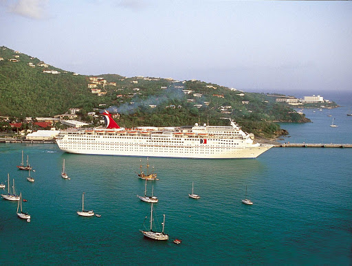 Carnival-Ecstasy-Caribbean-port - A Caribbean adventure awaits you aboard Carnival Ecstasy.
