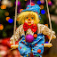 Clown by Vaidotas Maneikis - Artistic Objects Toys ( lights, clown, funny, bokeh, circus, toy, object, colorful, mood factory, vibrant, happiness, January, moods, emotions, inspiration,  )