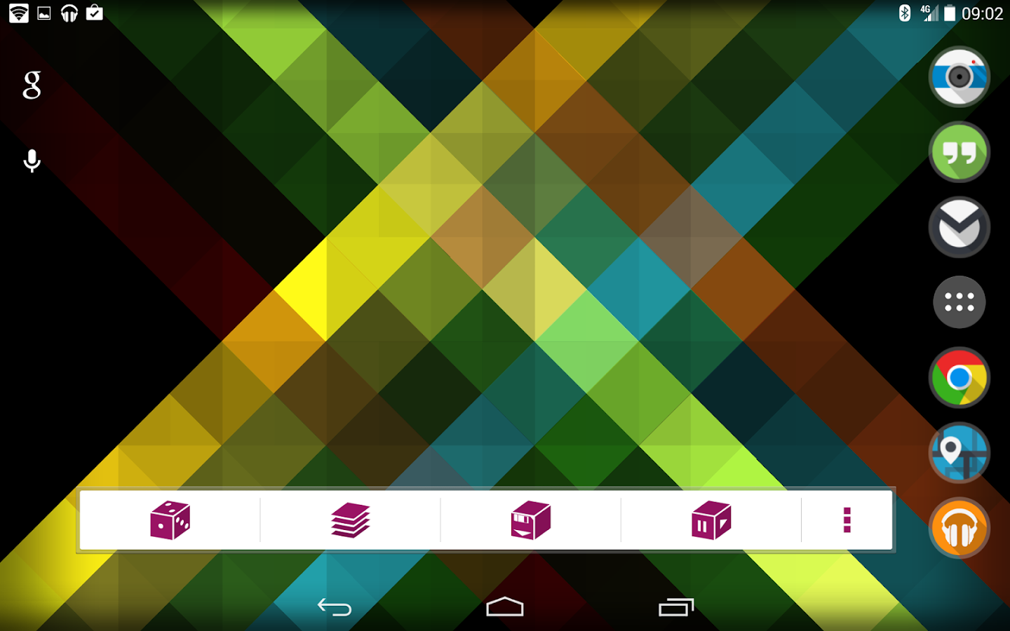 Origami Live Wallpaper- screenshot
