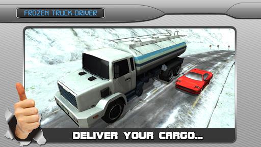 Frozen Highway Truck Driver 3D