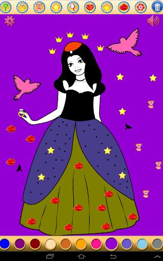 【免費休閒App】公主繪畫-APP點子