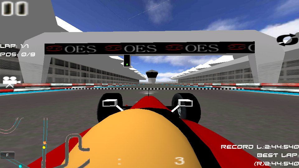 Indie Racing Game- screenshot