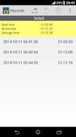 Screenshot of Cube Timer