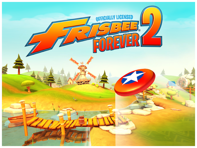 Frisbee(R) Forever 2 Android App Screenshot