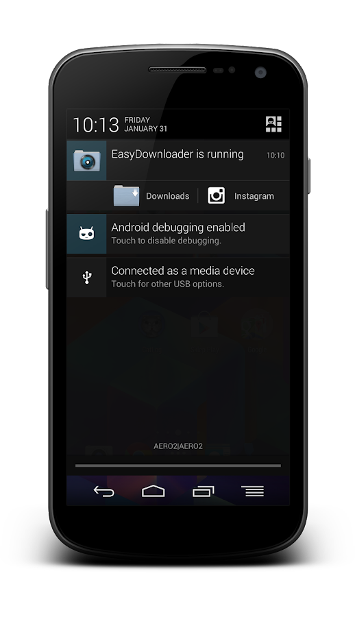 EasyDownloader - screenshot