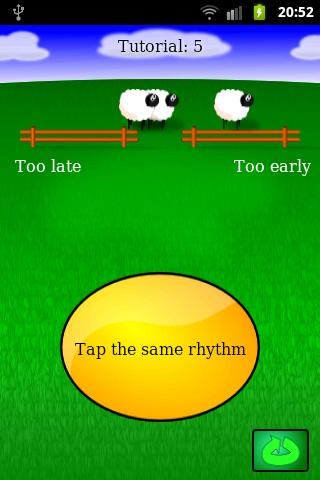 Rhythm Sheep Free, learn music- screenshot
