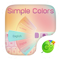 Simple Colors Keyboard Theme icon