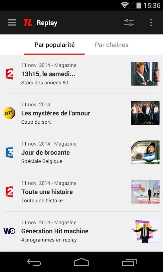 Programme TV par Télé Loisirs - screenshot