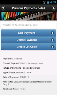Open Payments for Industry - screenshot thumbnail