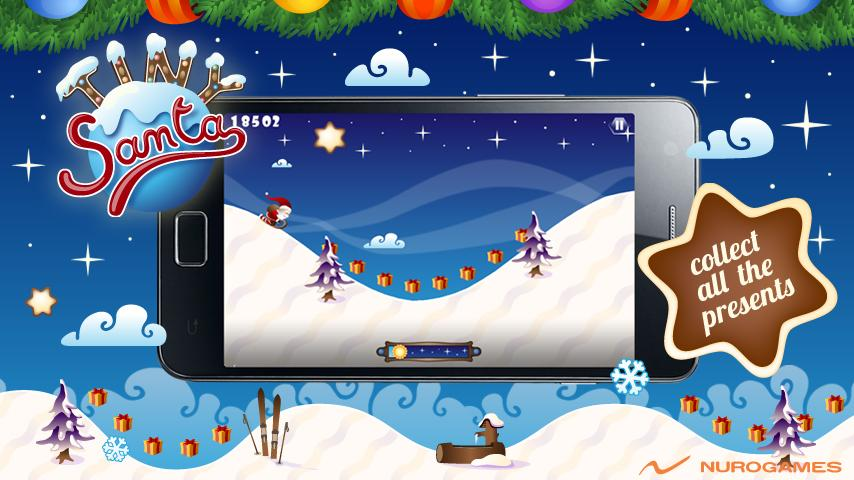 Tiny Santa - Xmas Hills- screenshot