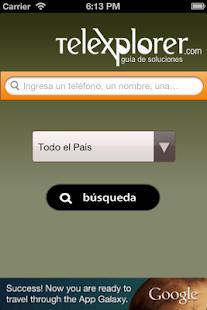 Telexplorer - Guía Argentina - screenshot thumbnail