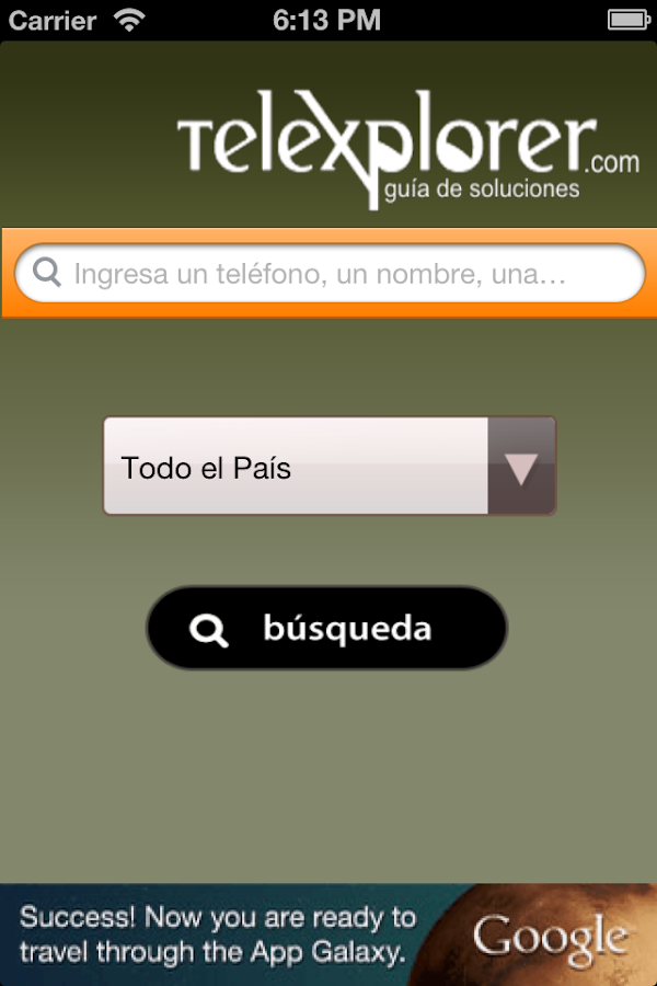 Telexplorer - Guía Argentina - screenshot