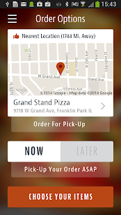 Grand Stand Pizza- screenshot thumbnail
