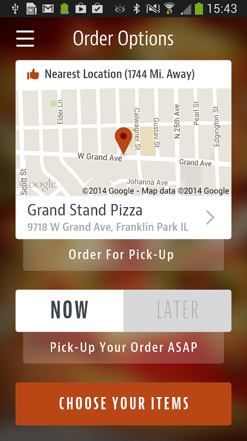 Grand Stand Pizza- screenshot