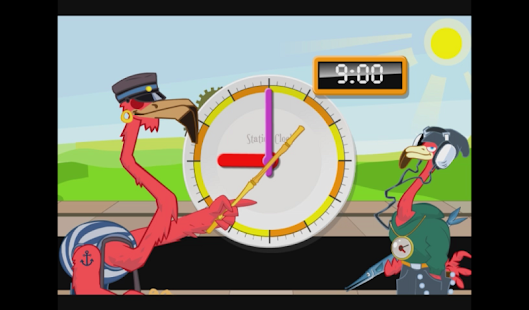 Learn to tell time - Fun Clock - screenshot thumbnail