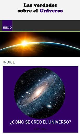 Verdades sobre el Universo