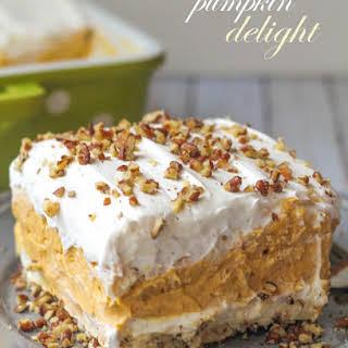 Layered Pumpkin Dessert.