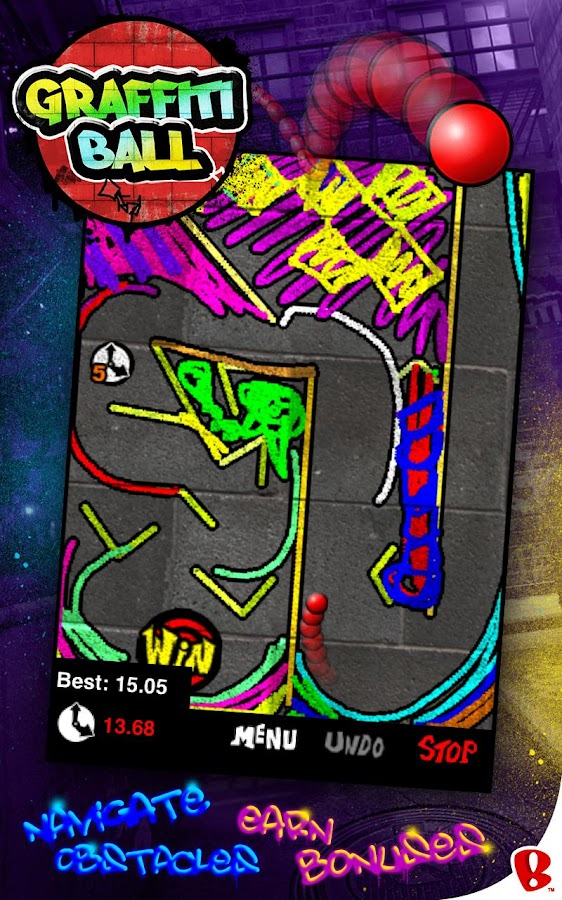 Graffiti Ball - screenshot