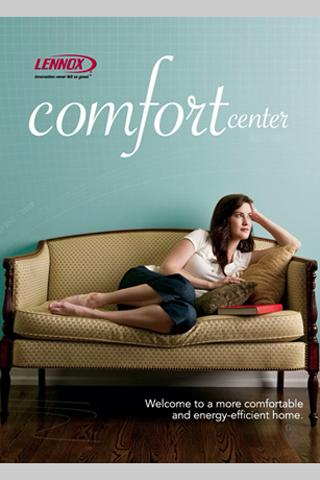 Lennox ComfortCenter - screenshot