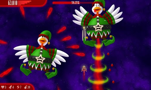Chicken Invaders 4 Xmas - screenshot thumbnail