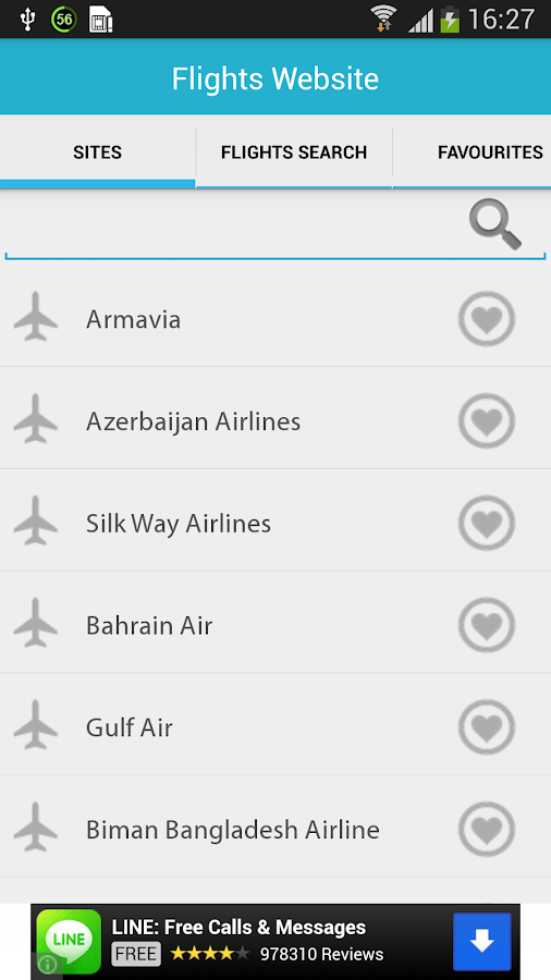 Flight Search- screenshot