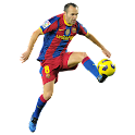 Andres Iniesta widgets logo