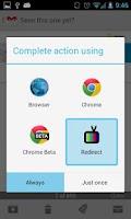 Screenshot of Redirect For Youtu.be