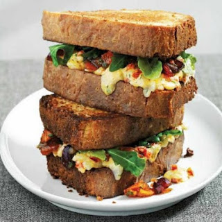 Richard Blais's Pimento Jack Cheese Sandwiches.