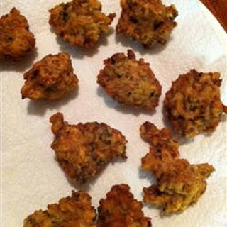 Grammy's Clam Fritters.