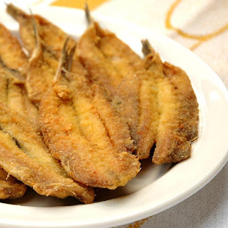 Fried Anchovies.
