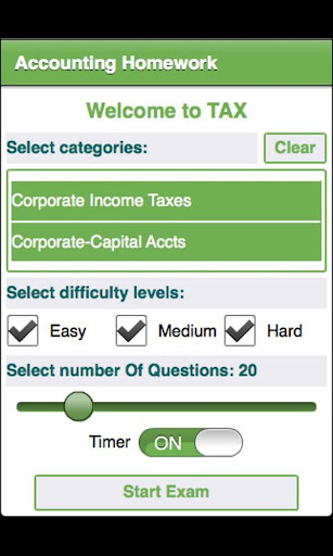 College Tax Accounting