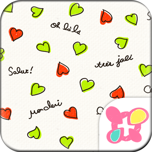 Heart Theme-French- Icon