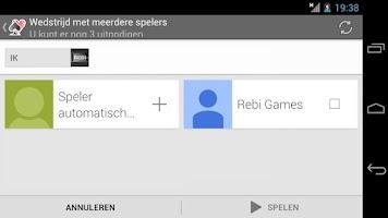 Screenshot of Pesten!