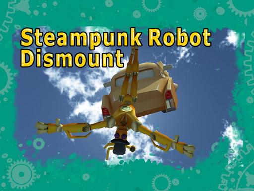 Steampunk Robot Dismount