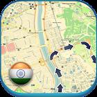 India Offline Straßenkarte icon