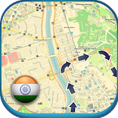 India Offline Map & Weather