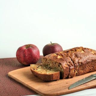 {Healthy} Chopped Apple Bread.