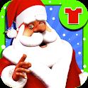 サンタドレスアップ - 子供のゲーム icon