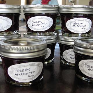 Cherry Amaretto Jam.