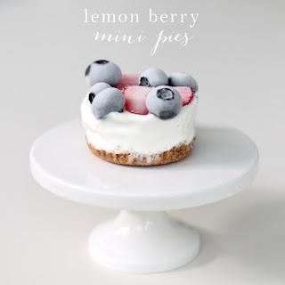 Easy Lemon Berry Pie | Refreshing Summer Dessert