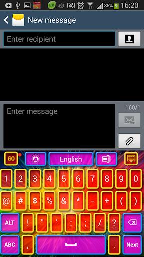 彩色高清键盘