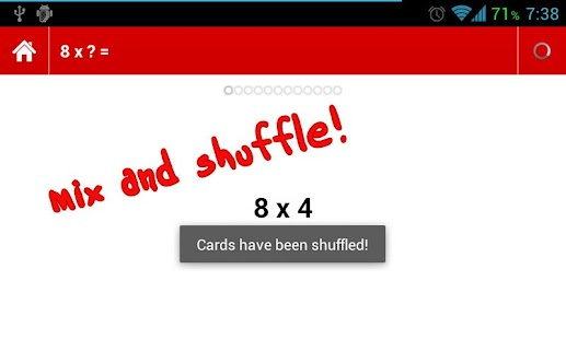 Times Tables Flashcards - screenshot thumbnail
