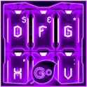 GO Keyboard Purple Tech Theme icon