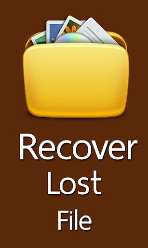 Recover Lost File